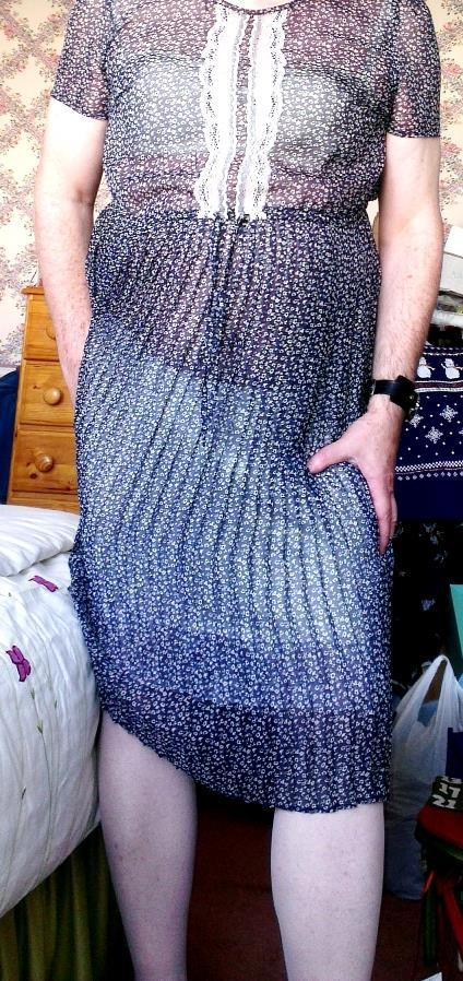 The problem is it came with a navy blue built in slip, for modesty, as the material of the dress is quite thin. The built in slip is a horrible scratchy material, ultra plain.