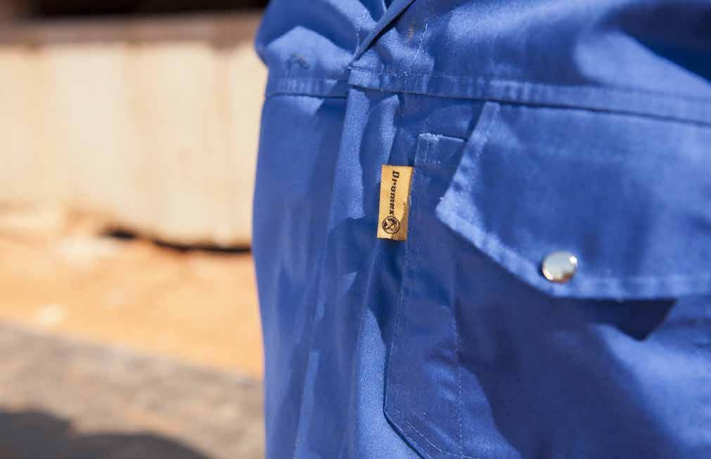 DROMEX WORKWEAR SELECTING THE CORRECT WORKWEAR PROTECTION It is recommended that all the local standards and regulatory procedures be considered when selecting your workwear The Dromex workwear