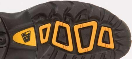 phylon and rubber Oil and slip resistant Antistatic outsole Sizes 4-13 JCB SAFETY