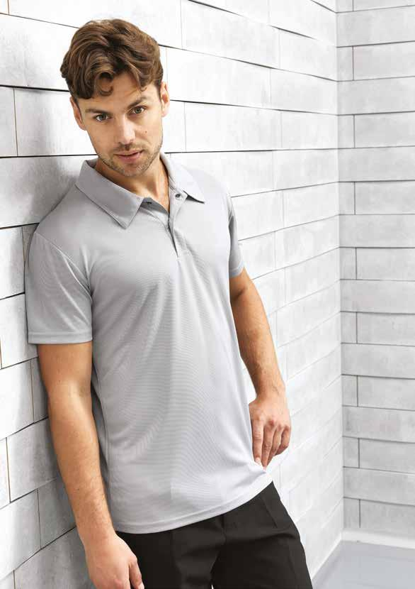 C O O L C H E C K E R 3 Coolchecker Stud Polo PR6 Stud polo in easycare fabric with moisture management and excellent colour retention.