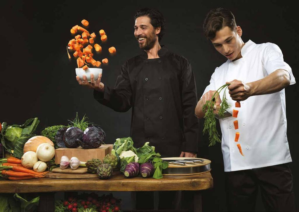 UNIFORMS THAT WORK FOR YOU CH EFS WEAR A FRESH APPROACH These days chef and the