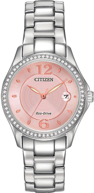 ECO-DRIVE FE1140-86X GA10-51B EX1410-53A FE1140-86X Ladies steel case and