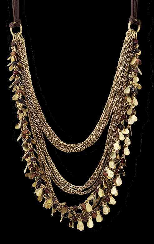 J910 DRAPES OF LUXURY NECKLACE Collar Designed to inspire.