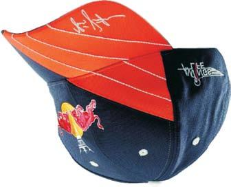 KINI-RB TEAM CAP ORANGE / NAVY 403-0031 $34.