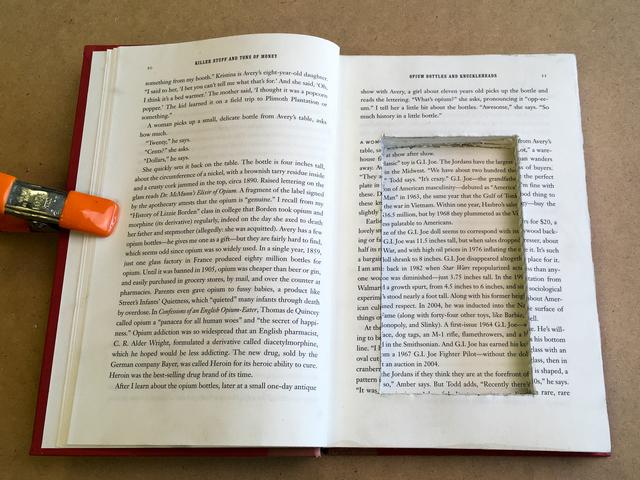 If you know of a specific object you'll be hiding in your book safe, make sure to test its
