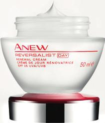 REVERSALIST 40+ ANEW REVERSALIST RENEWAL DAY CREAM SPF25 Skin has started to age. A loss of firmness has started to occur and some wrinkles and discolourations caused by sun damage are visible.