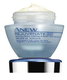 REJUVENATE 30+ ANEW REJUVENATE REVITALISING DAY CREAM SPF25 You wish to keep skin looking fresh, youthful and beautifully protected all day.