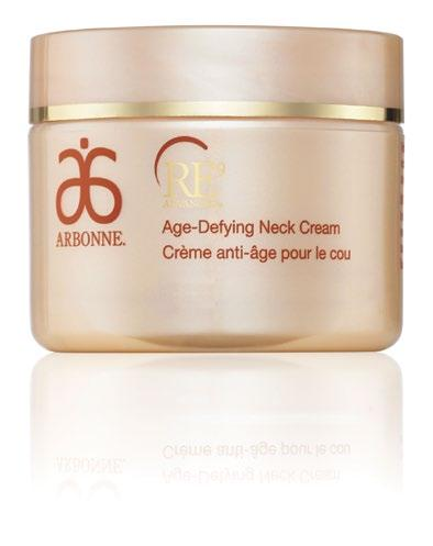 AGE-DEFYING NECK CREAM CLINICAL STUDY RESULTS After 1 use: 100% agreed they felt improved moisture of their neck