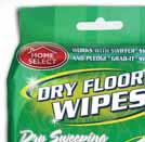 FLOOR WIPES SUPER ERASER Cleaning Products EASY DUSTER BONUS 3-PACK ROLLING CHANGE