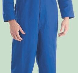 Traditionally styled coverall in polycotton fabric