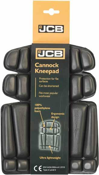 CANNOCK Kneepads C-BP Can be shortened 100% Polyethylene foam Ergonomic design Ultra lightweight Ultra lightweight Protection for flat surfaces Can be
