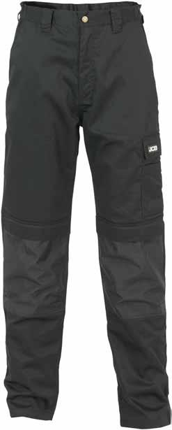 THE MAX Trouser D-WG / D-WA Rear pocket Comfort fit waistband Thigh pocket with pen pocket Triple stitched seams for durability All pockets double stitched