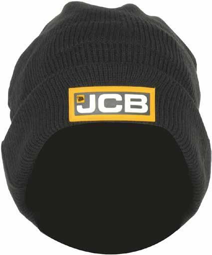 STONE Knitted Beanie C-BQ Windproof membrane Fleece lined Black knitted style
