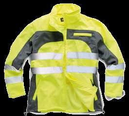 Softshell Hi-Vis Combi Coloured Soft Shell Jacket Certified to EN ISO 20471: 2013 Class 2 Orange colour meets GO/RT 3279 Issue 8 Retro-reflective silver hi-viz tape