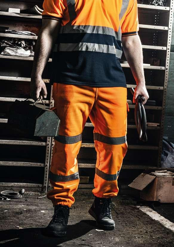 pages 24-25 Hi-Vis Joggers One of the most sought after product in the industry.