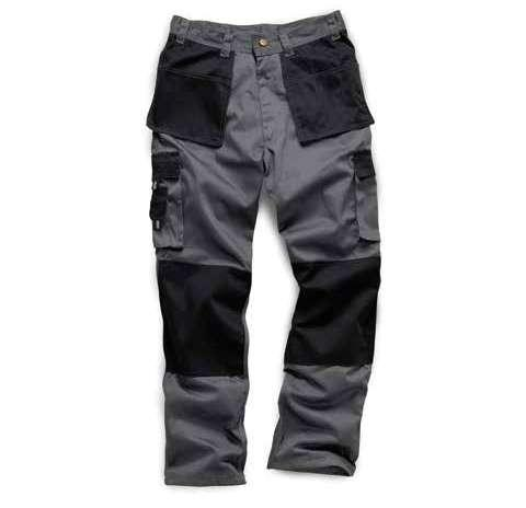 WK010 Camouflauge Work Trousers Heavy Duty Work Trousers 330gsm durable heavy duty contrast