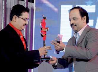 Mohanty, MD, Benetton India Pvt Ltd The Titan IFA awards were given away by: Natarajan S,