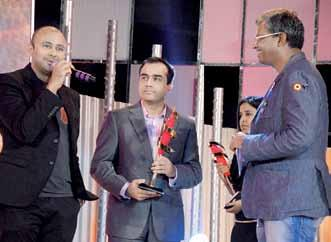in Punjab Received by: Vishal Salgia, Vama The Sisley IFA awards were given away