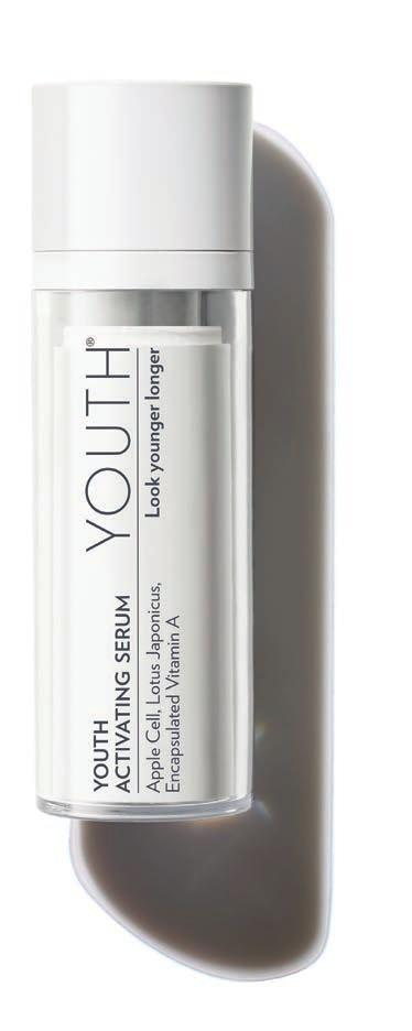 YOUTH COMPLEX The key to beautiful, younger-looking skin is to accelerate skin cell renewal to a more youthful rate. Young skin does this effortlessly.