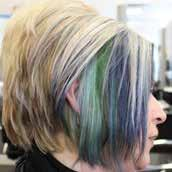 Must have NVQ Level 2 unit GH9 Covers a variety of colouring techniques such as; Full head/partial head application of lightener (bleach) covering at least 30% of the head Re-growth application of