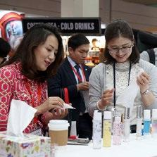 In total, 7,015 unique visitors from companies including AmorePacific, Cosmax, Johnson & Johnson, Kolmar, L Oréal, LG Household & Health Care attended the event, seeking out ways to develop novel