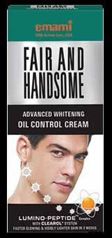 Shine-free and fair toned skin through oil control Men s skin is not only different from outside; it also reflects the activity of male hormones.