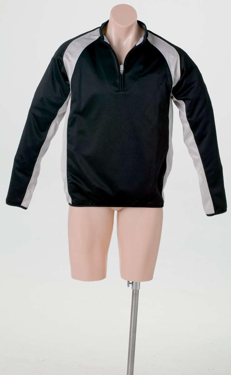 Uniform 025 Sports jacket / top, This garment has been designed to complement a sports as a warm up jacket.