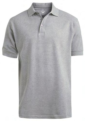 90 007 010 012 041 Up to 6XL Industrial Launder Tuff-Tested Soft and durable polo features rib-knit