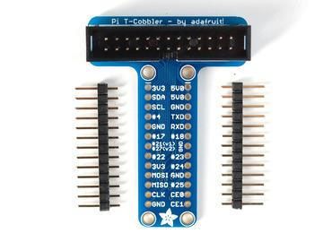 plug them into a solder-less breadboard as shown,
