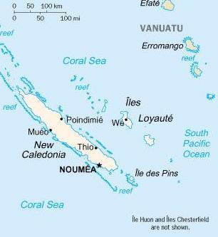 Unit 6: New Caledonia: Lapita Pottery Frederic Angleveil and Gabriel Poedi Facts Capital Main islands Highest point Language Government Noumea Grande Terre, 3