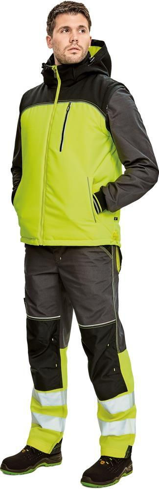 Vest Bodywarmer KNOXFIELD CERVA Made of 100% polyester, 300D mechanical stretch/tpu Quality 200gr/m².