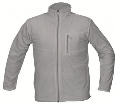 Fleece jacket Cerva KARELA Quality 280 gr./m². Unisex model. Windproof. Breathable. Contrast zippers. Without lining.