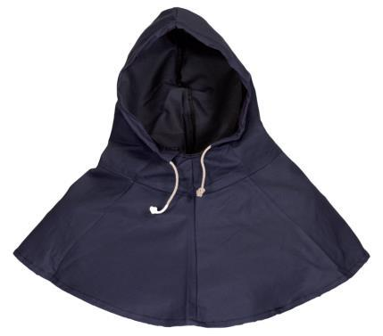 Monks head for welding protection Made of 98% cotton, 2% carbon. Flame retardant material. Hood with string.