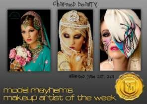 Thank you for your interest in Charmed Beauty s Bridal Training Academy. Farzana is an award winning makeup artist with over 7 years experience in the makeup industry.