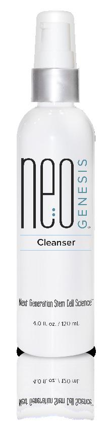 CLEANSER MIST Cleanser NeoGenesis Cleanser is specially formulated to gently cleanse and refresh the skin morning and night without the use of sulfates or other harmful ingredients.