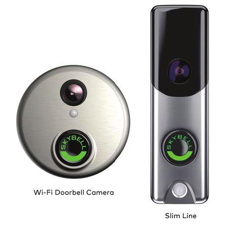 Alarm.com Wi-Fi Doorbell Camera and Slim Line INSTALLATION GUIDE INTRODUCTION Your customers will always know who is at the front door with an Alarm.com Doorbell Camera.