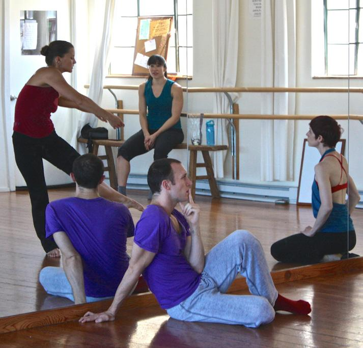 TEACHING AND COMMISSIONS RAWdance is available to create new work for intermediate to advanced dancers, and to teach classes and workshops to students of all levels.
