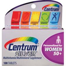 18 $16.73 CENTRUM SILVER 50+ WOMENS 100CT 223-0407 $16.