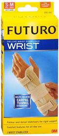 SUPPORT PRODUCTS FUTURO WRIST STABILIZER DELUXE LEFT LARGE/X-LARGE