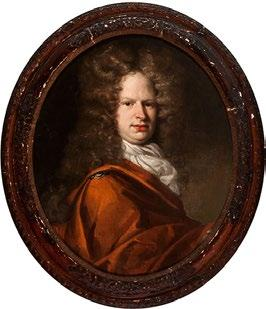 25 2 School of Peter LELY Admiral Sir Cloudesley Shovell Oil on