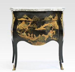 25 41 LOUIS XV STYLE CHEST OF DRAWERS - France, 19th c.