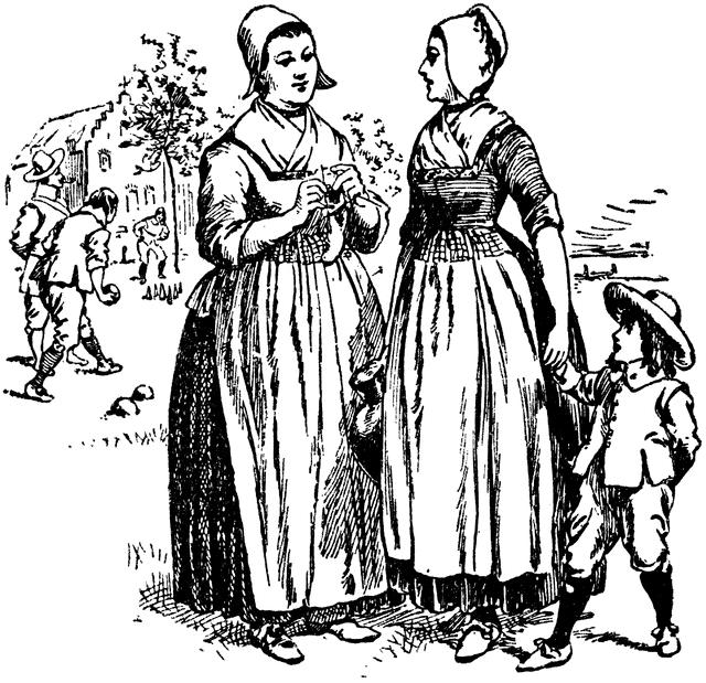 Colonial Life 4 Women in the Colonies Puritan New England was most definitely a man s world! Women could not vote, testify in court, or sign legal documents such as wills.