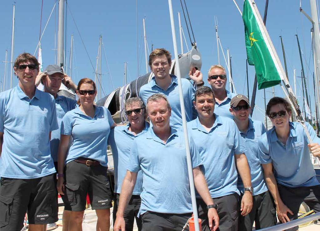 Quetzalcoatl On the High Seas Australian Wool Network has taken to the high seas providing the crew of a Sydney to Hobart yacht race contender with Visione racing shirts and Hedrena polo shirts from
