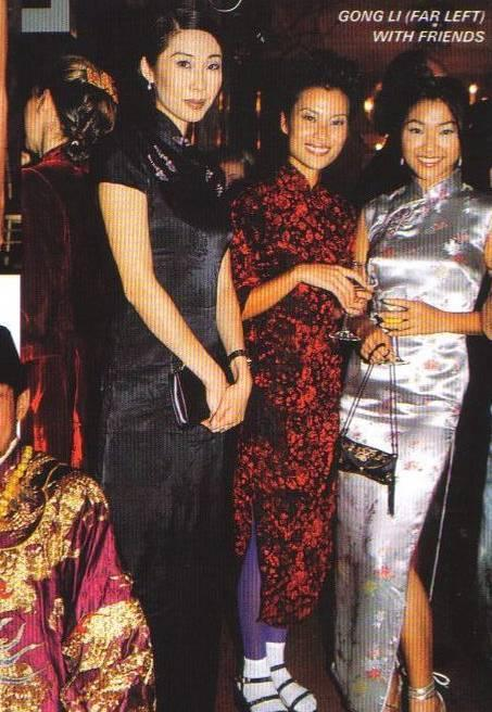 Both Gong Li and another celebrity, Lynn Wyatt wore Qipao to walk the red carpet at the Academy Award in 2004 (see Figure 4.18c and 4.18d). a. 1997 (1) p. 126 b. 1997 (9) p. 214 c.