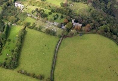 Calstock was discovered by a team from Exeter University while excavating for evidence of a 15 th century Crown Enterprise smelting furnace and is the biggest Aerial photograph Calstock Fort