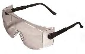 38 Plant Visitor 0027944 697500 (0/BOX) 000874 (44/BOX) Classic look Fits over most Rx glasses Integral, vented side shields Rx