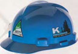 Helmet Customization Put your reputation on ours: add your company logo, slogan or even a picture to your MSA helmet!