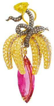 jewellery pieces in vivid hues and