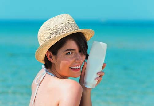 INGREDIENTS FOCUS: SUN CARE creams with SPF are on the rise and we expect this trend to continue.