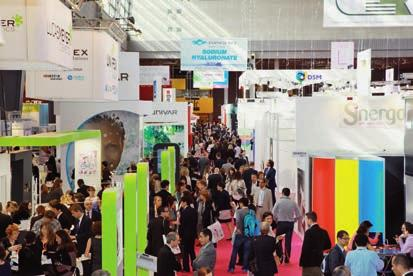ADVERTISEMENT / ANZEIGE EVENTS The Innovation Zone: Visitors can discover new ingredient launches from all corners of the globe More than 20 Marketing Trends sessions will investigate hot topics such